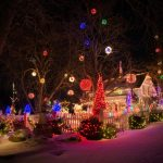 60 Awesome Christmas Lights Decoration Ideas