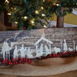 35 Creative Reclaimed Wood Christmas Decoration Ideas